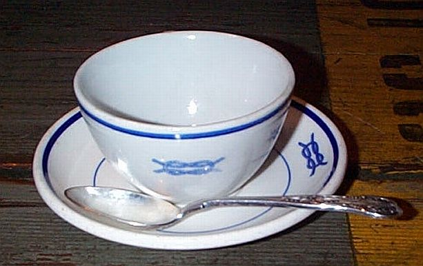 junior officer 3 pc coffee set w square knot insignia