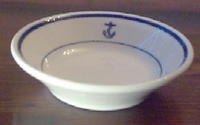 Berry Bowl US Navy Wardroom Anchor