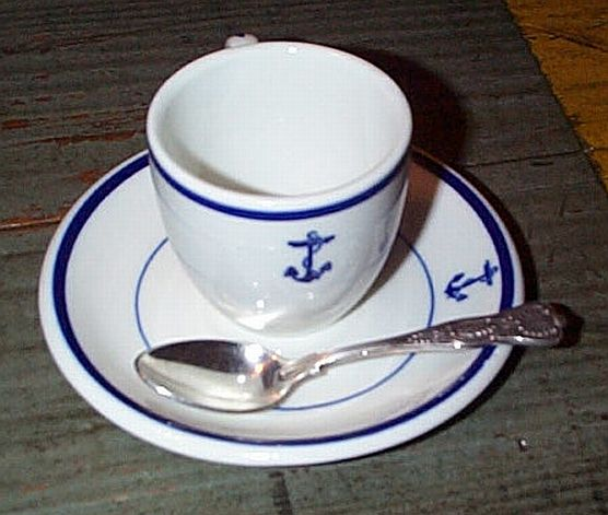 3pc Demitasse or Expresso Coffee Cup Set