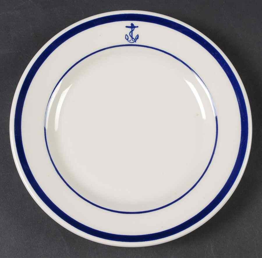US Navy Wardroom Anchor Plate