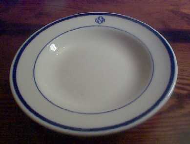soup bowl for warrant officers mess